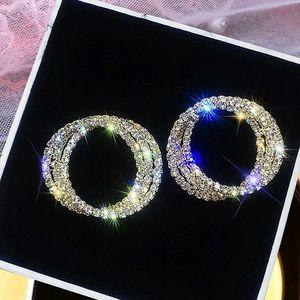 Woman's hoop earrings